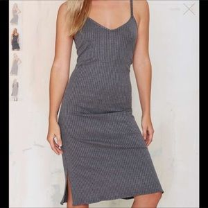 R105 The Heather Ribbed dress